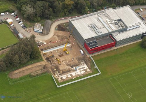Lancaster University aerial 18 September 2019